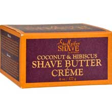 Coconut and Hibiscus Shave Cream for Women