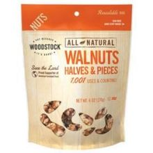 All Natural Raw Walnuts Halves and Pieces