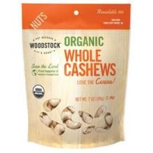 Organic Large Whole Raw Cashew