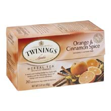 Twinings Orange and Cinnamon Spice Herbal Tea