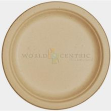 Bagasse Unbleached Round Fiber Plate