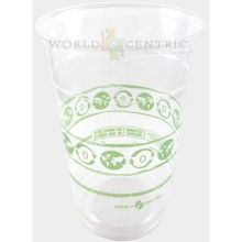 Clear Compostable Cold Cup