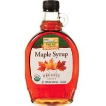 Organic Grade B Maple Syrup