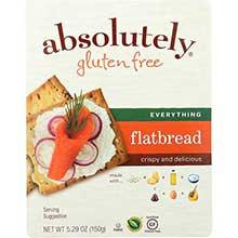 Gluten Free Everything Flatbread