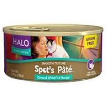 Whitefish Spots Pate for Cat