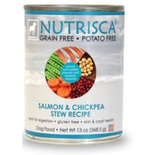 Nutrisca Salmon and Chickpea Stew Recipe Dog Food