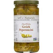 Sliced Golden Greek Peperoncini