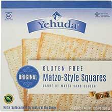 Yehuda Gluten Free Matzo Squares 10.5 Ounce