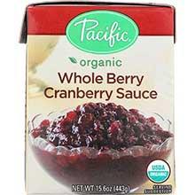 Organic Whole Berry Cranberry Sauce
