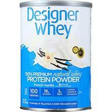 Designer Whey French Vanilla Protein Powder 12.7 Ounce