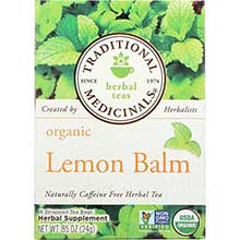 Organic Lemon Balm Herbal Tea Bag