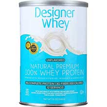 Designer Whey Natural Protein Powder 12.7 Ounce