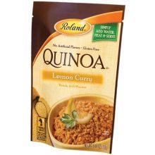 Lemon Flavor Curry Quinoa