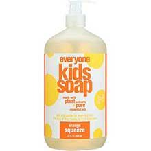 Orange Soap for Kids