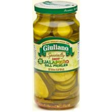 Hot Jalapeno Dill Pickles