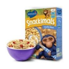 Organic Snackimals Vanilla Blast Cereal