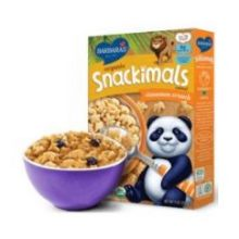 Organic Snackimals Cinnamon Crunch Cereal
