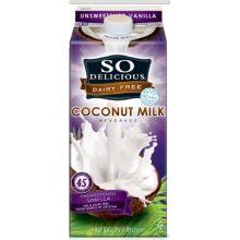 Unsweetened Vanilla Coconut Milk Beverage