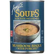 Organic Mushroom Bisque with Porcini