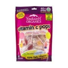 Organics Vitamin C 40 Plus Lollipops