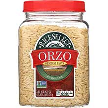 Orzo Traditional Plain Pasta