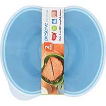 Aquamarine Sandwich Food Storage Container