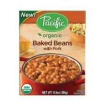 Organic Baked Beans with Pork