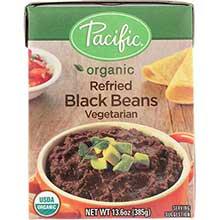 Organic Vegetarian Refried Black Beans