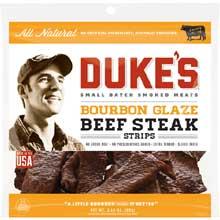 Bourbon Glaze Steak Strips