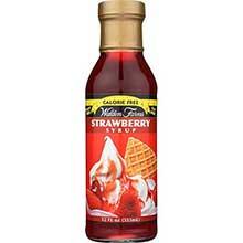 Calorie Free Strawberry Pancake Syrup