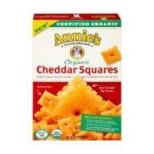 Organic Cheddar Squares Cracker