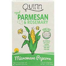 Parmesan and Rosemary Microwave Popcorn