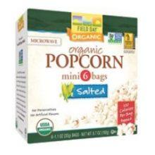 Organic 100 Calories Salted Microwave Popcorn