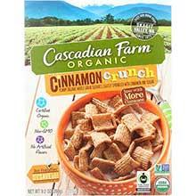 Organic Cinnamon Crunch Cereal