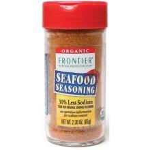 Organic 30 Percent Less Sodium Seafood Seasoning