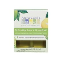 Refreshing Lime and Grapefruit Electric Aromatherapy Air Freshener Refill