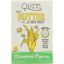 Butter and Sea Salt Microwave Popcorn
