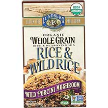 Organic Whole Grain Wild Porcini Mushroom Rice