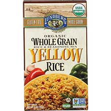 Organic Whole Grain Yellow Rice