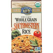 Organic Whole Grain Southwestern Rice