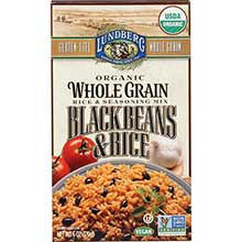 Organic Whole Grain Black Beans Rice