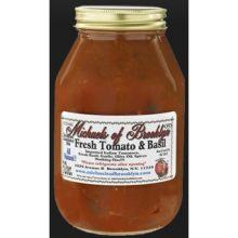Fresh Tomato and Basil Sauce