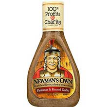 Newmans Own Parmesan and Roasted Garlic Salad Dressing 16 Ounce