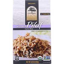 Organic Multigrain Curry Rice Pilaf