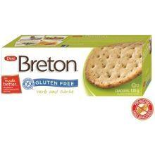 Breton Gluten Free Herb and Garlic Cracker
