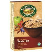 Organic Gluten Free Variety Pack Hot Oatmeal