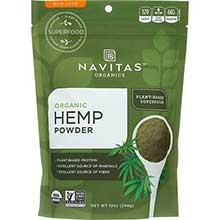 Organic Raw Hemp Powder