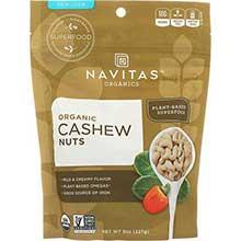 Organic Cashew Whole Nuts