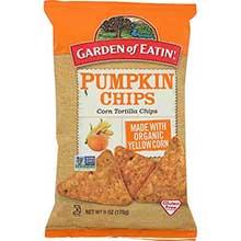 Pumpkin Tortilla Chips