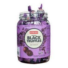 Dark Chocolate Black Truffles